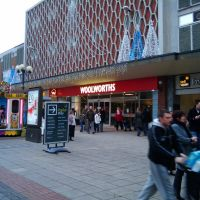 Woolworths in Solihull Jan 2009, Солихалл