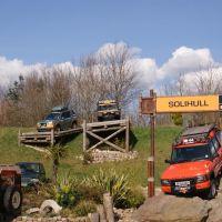 Land rover Experience, Солихалл