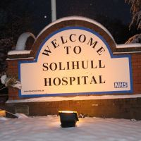 Hospital Signage, Солихалл
