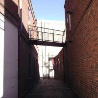 Alleyway between buildings, Стайнс