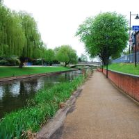 River Sow, Stafford, Стаффорд
