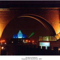 Stockport Viaduct and Pyramid, Стокпорт