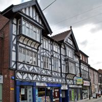 Typical Stockport half-timbered style. It grows on you., Стокпорт