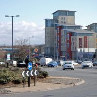 Looking Towards Bridge Road, Стоктон-он-Тис