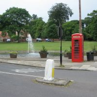 Norton Green, Duck Pond and Red House School, Cleveland, Стоктон-он-Тис
