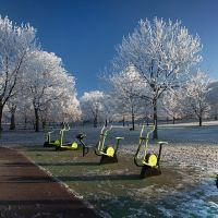 Outdoor Gym at Mary Stevens Park, Stourbridge, Стоурбридж
