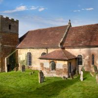 Church at Loxley, Warwickshire, Стратфорд-он-Эйвон