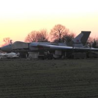 XM655 at Wellesbourne, Стратфорд-он-Эйвон