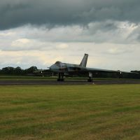 Black clouds at Wellesbourne, Стратфорд-он-Эйвон