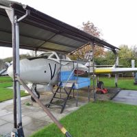 de Havilland Vampire T.11 XK/590 at Wellesbourne Wartime Museum., Стратфорд-он-Эйвон