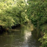 Hampton Court, Herefordshire: the River Lugg, Стретфорд
