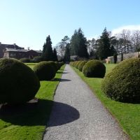 Berrington Hall - entrance avenue, Стретфорд