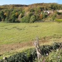 Panorama of Randwick Valley, Gloucestershire, UK, Строуд