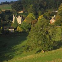 Randwick valley, Stroud, Gloucestershire, UK, Строуд