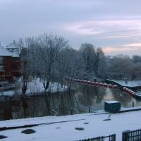 Snow in Tonbridge, Тонбридж