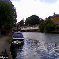The River Medway by Medway Wharf Road (1), Тонбридж