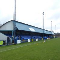 Longmead Stadium, home of Tonbridge Angels Football Club, Тонбридж