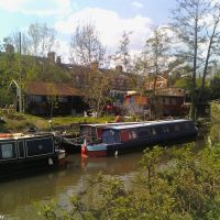 Narrowboats on the River Medway (2), Тонбридж