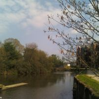 The River Medway by Tonbridge Lock (2), Тонбридж