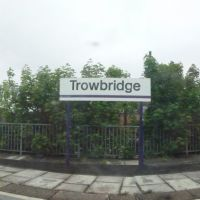 Trowbridge : Trowbridge Railway Station, Траубридж