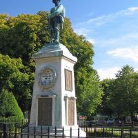 Trowbridge - Town Park - The War Memorial, Траубридж