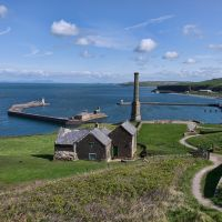 Whitehaven Harbour Whitehaven to St Bees Coastal Path, Уайтхейен