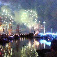 Fireworks at 2005 Maratime Festival, Уайтхейен