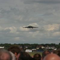 Vulcan lands at Farnborough 2008, Фарнборо