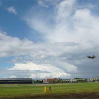 Jet landing, Фарнборо
