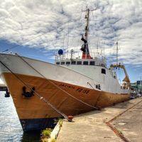 Jacinta in Fleetwood Fish Docks, Флитвуд