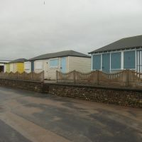 Fleetwood beach huts, Флитвуд