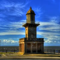 FLEETWOOD LOWER LIGHTHOUSE, FLEETWOOD, LANCASHIRE, ENGLAND., Флитвуд
