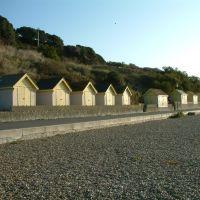 Beach huts, Фолькстон