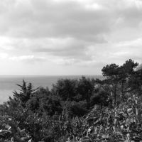 la Mer du Nord vue du Leas, Фолькстон