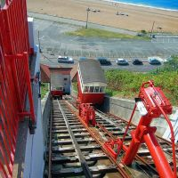 The Folkestone Leas Cliff waterbalanced Double Lift, Фолькстон
