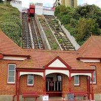 Cliff Lift, Folkestone - opened in 1885, Фолькстон