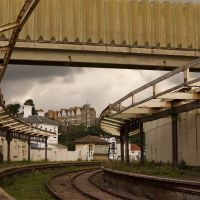Old railwaystation at Folkestone, Фолькстон