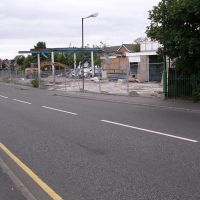 Kirklake Rd Taken July 2003 Old Garage Being Demolished, Формби