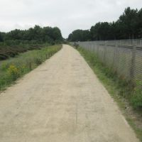Path next to the railway line, Формби