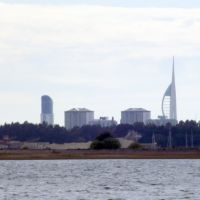Portsmouth Skyline From, Havant, Hampshire, England. UK   www.mickaul.co.uk, Хавант