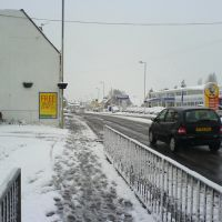 bedhampton road in the snow, Хавант