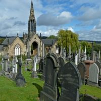 Mortuary Chapels, Edgerton Cemetery, Huddersfield, Хаддерсфилд