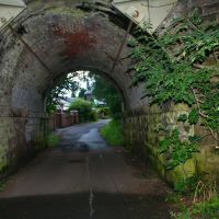 Bridge at Simpsons corner, Mill Lane, Stockport, Хазел-Гров