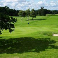 The 18th green, Hazel Grove Golf Club http://www.hazelgrovegolfclub.com, Хазел-Гров