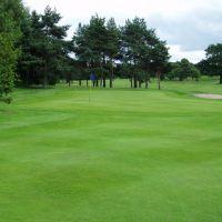 The 9th green, Hazel Grove Golf Club http://www.hazelgrovegolfclub.com, Хазел-Гров
