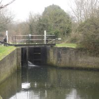 Latton Lock, River Stort Navigation, Харлоу