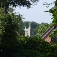 Parish Church of St Nicholas from Sun Lane, Harpenden, Харпенден
