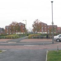 A view of Cunningham Ave from Dragron Rd. Hatfield, Хатфилд