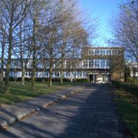 Main Block in college lane campus University of Hertfordshire, Хатфилд