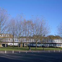 Hutton Block in college lane campus University of Hertfordshire, Хатфилд